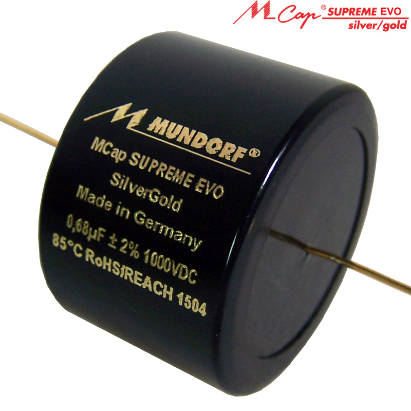 Mundorf M-Cap SUPREME EVO Silber/Gold 1000 VDC 0,15 uF