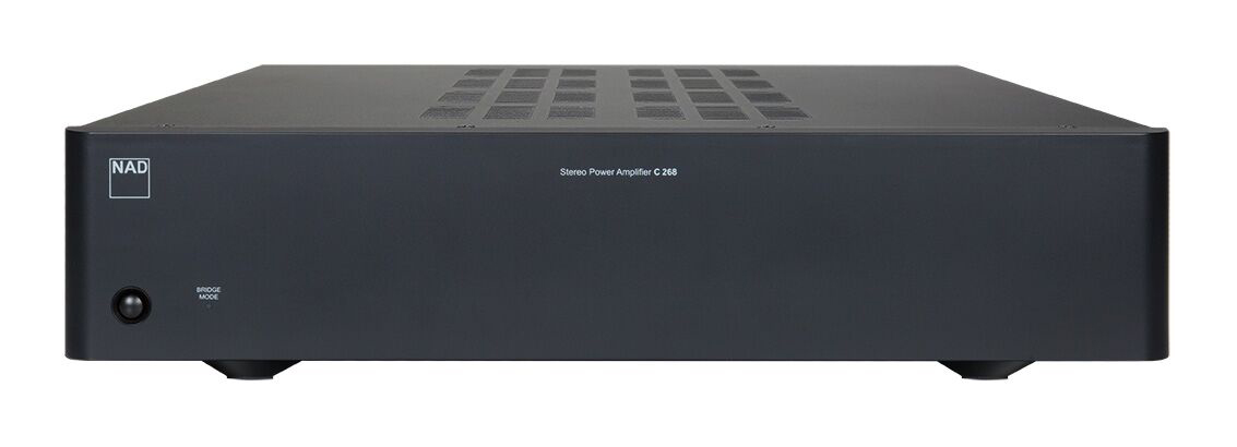 NAD C 268 Stereo-Endstufe, graphit