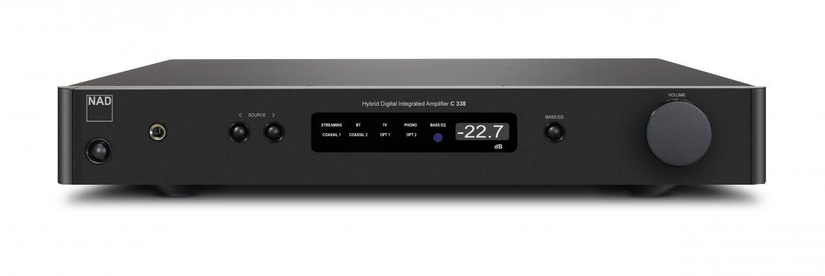 NAD C 338 Hybrid Digital Integrated Amplifier, graphite