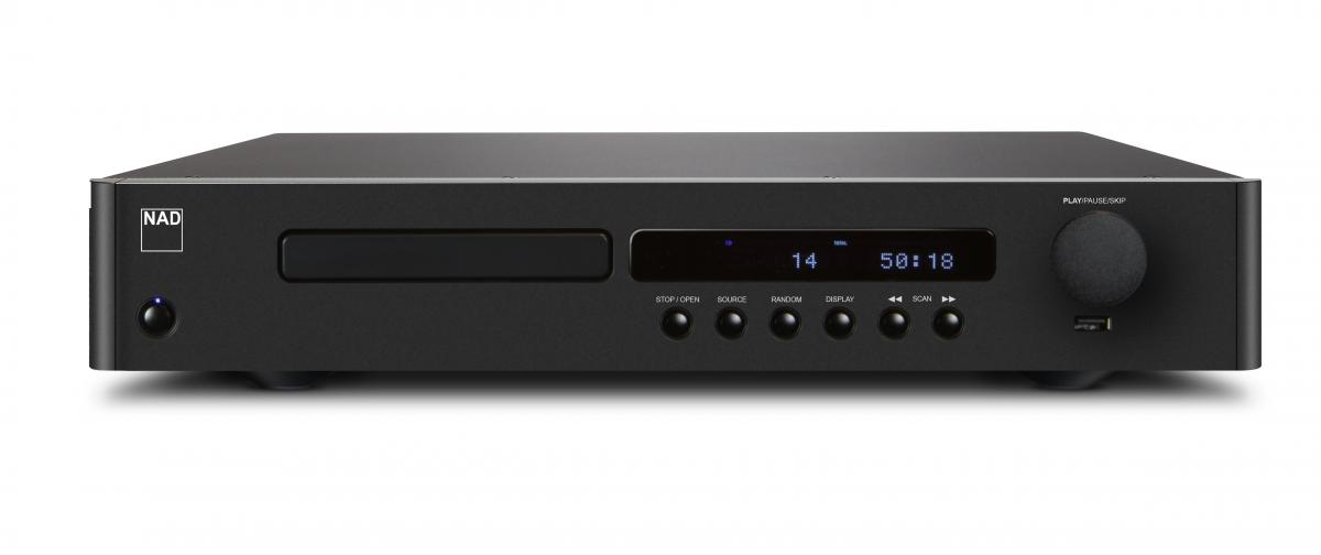 NAD C 568 CD-Player, graphite
