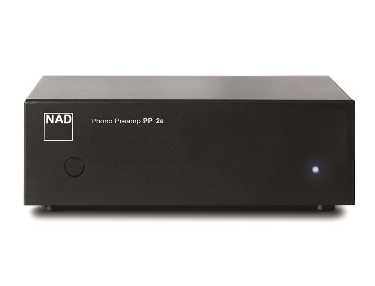 NAD PP 2e MM/MC Phono Vorverstärker, graphit