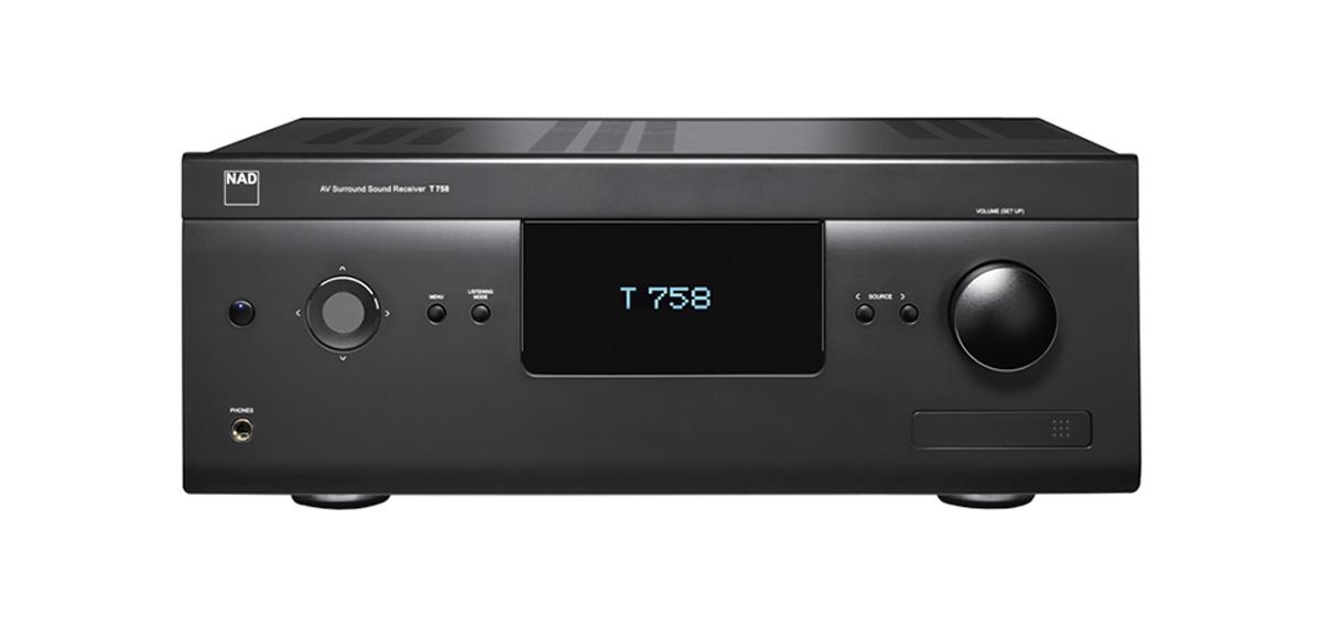 NAD T 758 V3 HD AV-Receiver 7.1 with BlueOS, Graphite