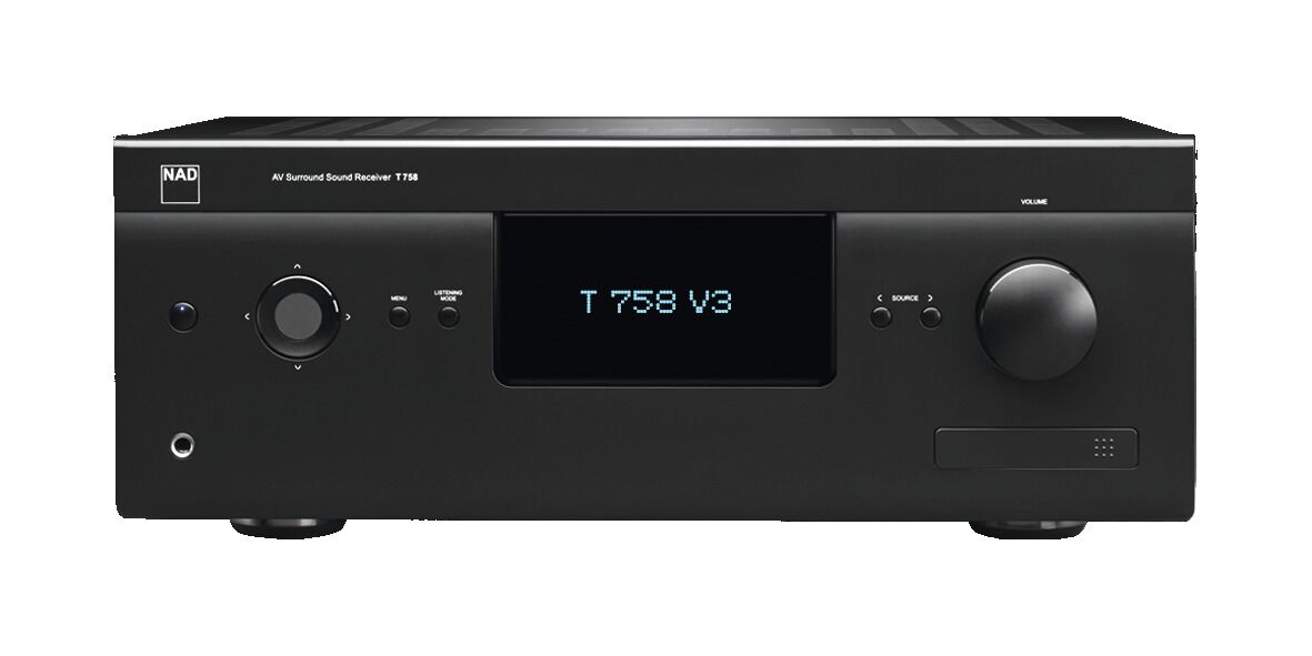 NAD T 758 V3i HD AV-Receiver 7.1 mit BlueOS, Graphit