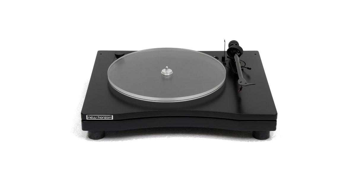 New Horizon GD 2 Plattenspieler mit Haube schwarz