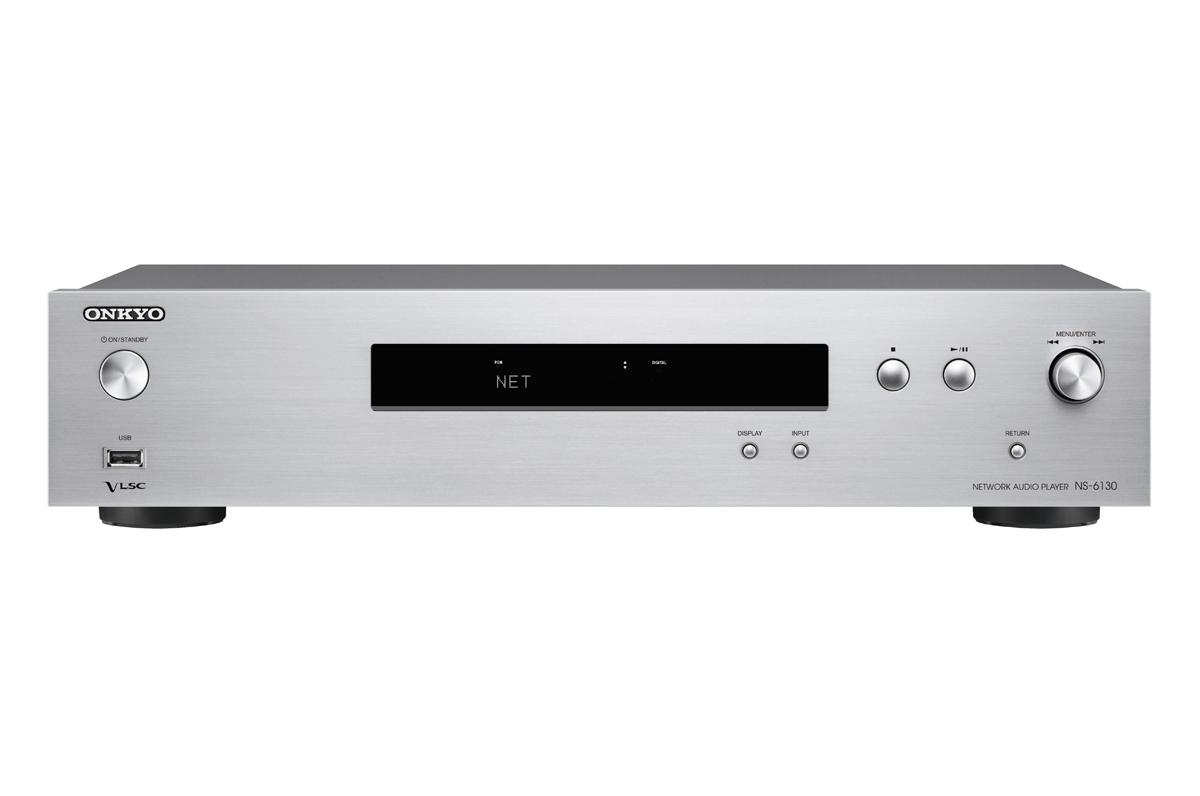 Onkyo NS-6130 HiRes Netzwerk Audio-Player silber