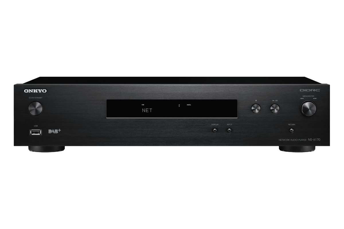 Onkyo NS-6170 HiRes Netzwerk-Audio-Player