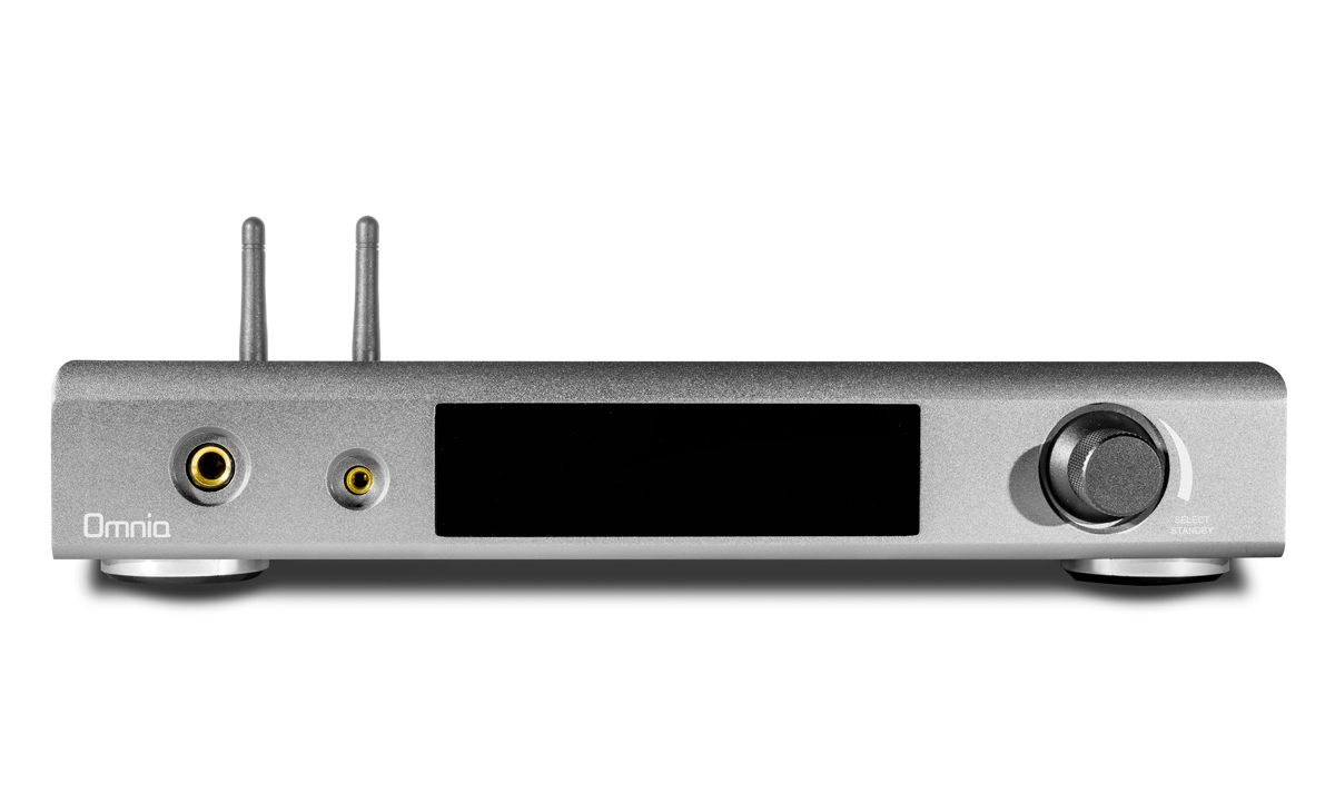 Nuprime Omnia A300 Streaming Amp, All in One, Antrazith