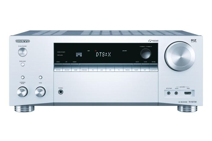 Onkyo TX-RZ720 7.2-Kanal-AV-Netzwerk-Receiver silber