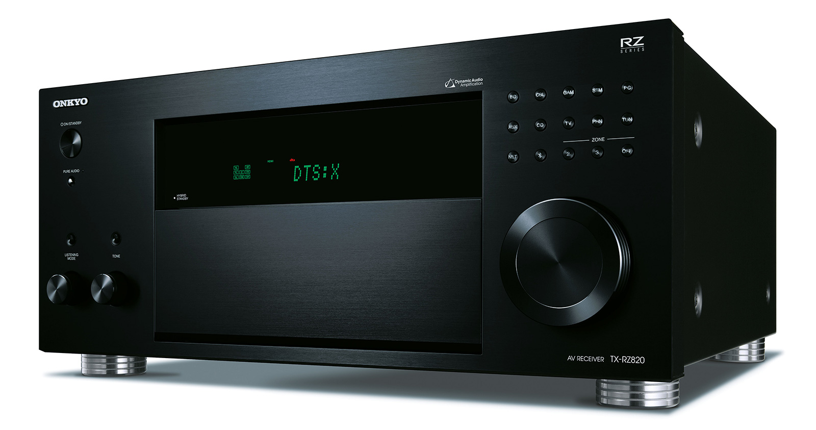 Onkyo TX-RZ820 7.2-Channel-AV-Network-Receiver black