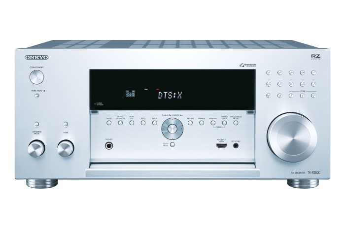 Onkyo TX-RZ820 7.2-Channel-AV-Network-Receiver silver