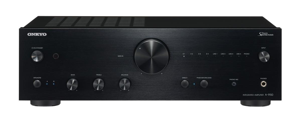 Onkyo A-9150 Stereo-Vollverstärker mit D/A Wandler schwarz