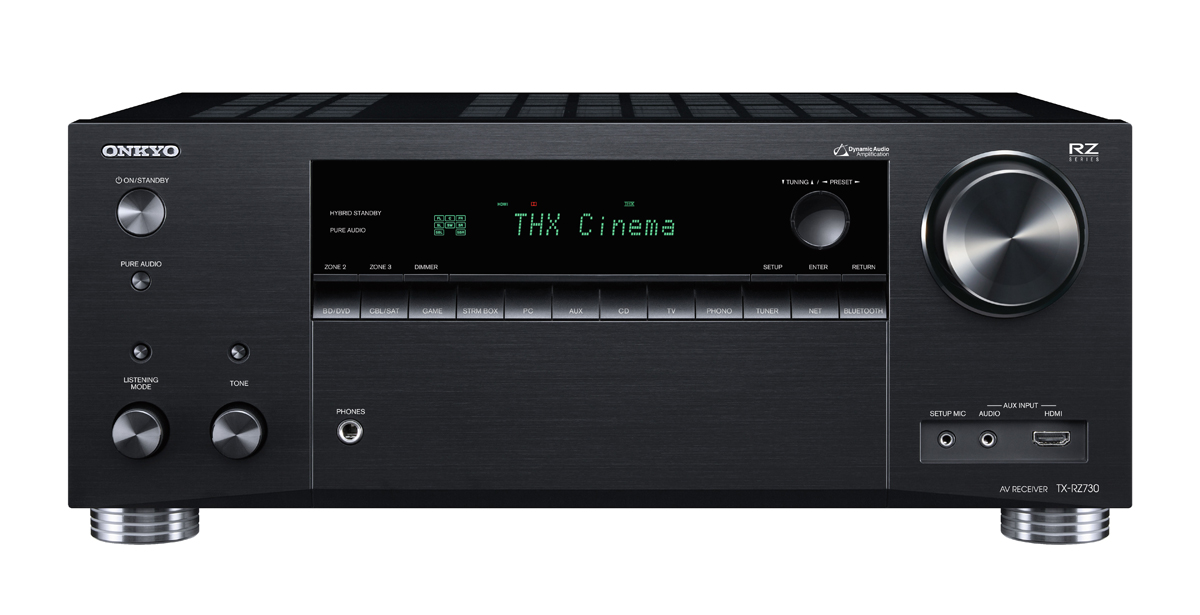 Onkyo TX-RZ730 9.2-Channel Network A/V Receiver black