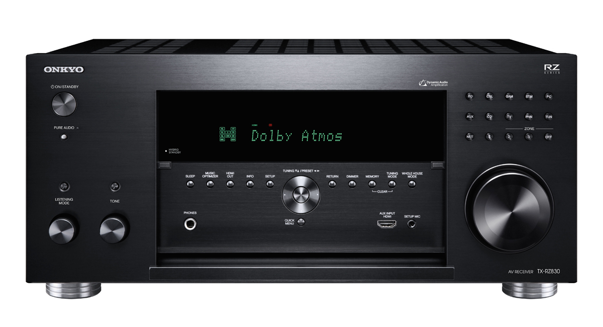 Onkyo TX-RZ830 9.2-Channel Network A/V Receiver black