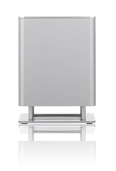 Piega T-Micro Aktive-Subwoofer silver aluminium