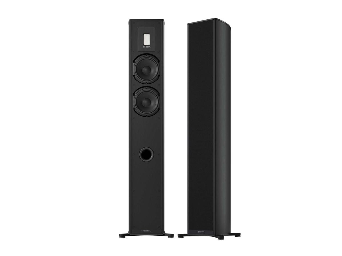 Piega Premium Wireless 701 Stand-Lautsprecher schwarz/Stoff schwarz