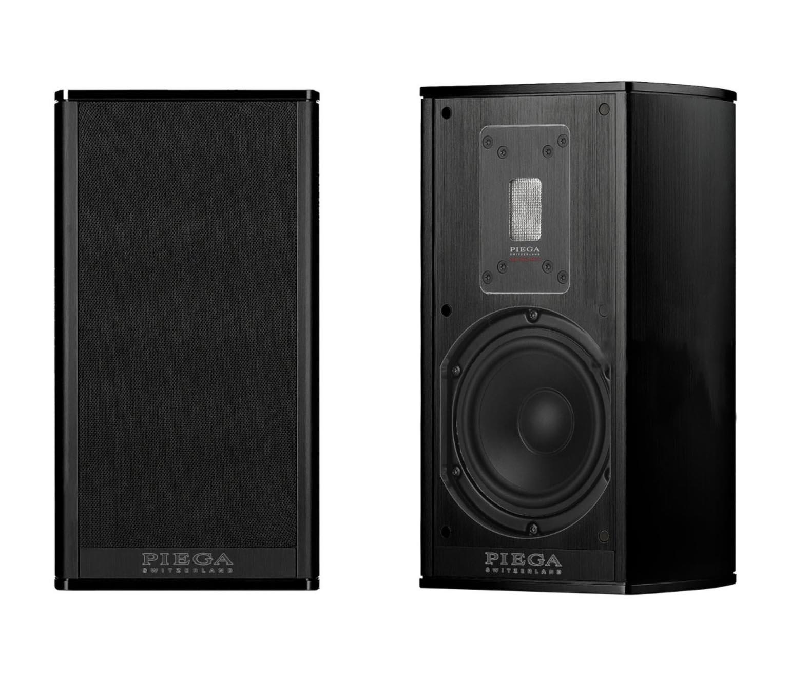Piega Premium 301 Regal-Lautsprecher, Alu schwarz (Demomodel)