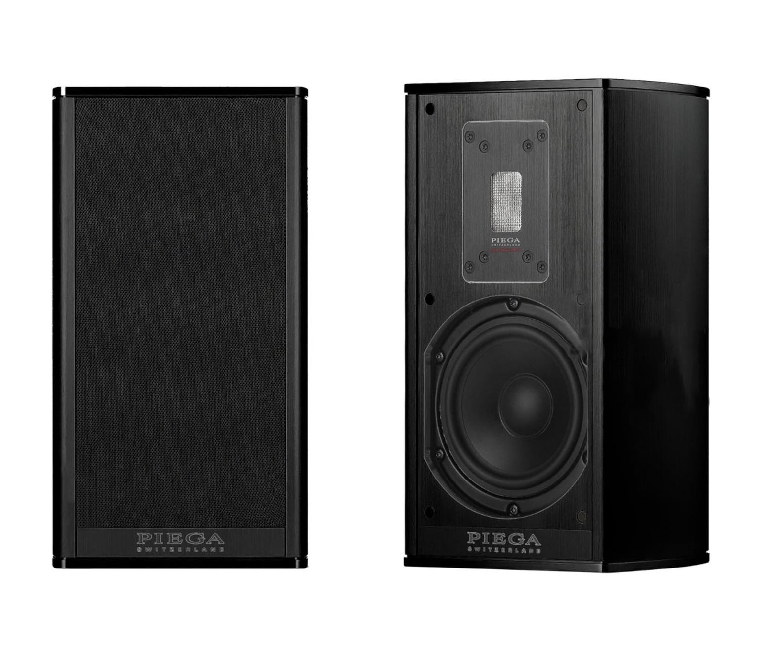 Piega Premium 301 Bookshelf Speaker (pair) Alu black, cover black