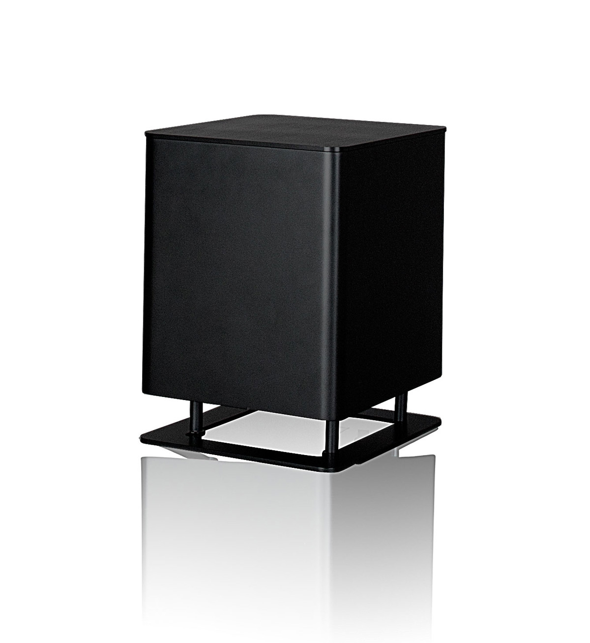 Piega T-Micro Aktive-Subwoofer black anodized