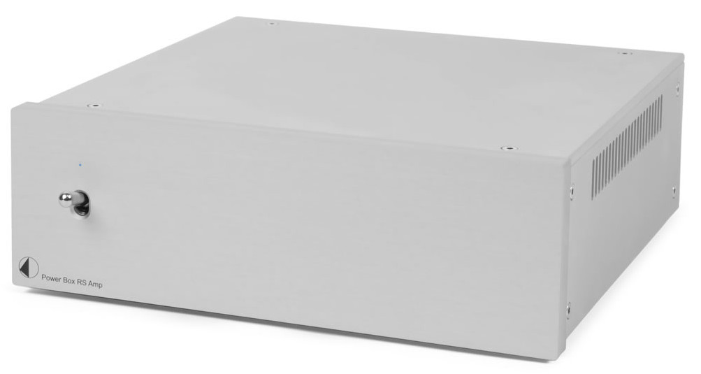 Pro-Ject Power Box RS Amp, Linear-Netzteil silber