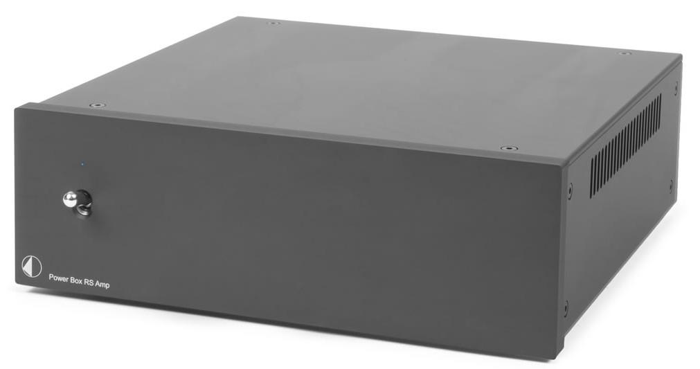 Pro-Ject Power Box RS Amp, Linear-Netzteil schwarz