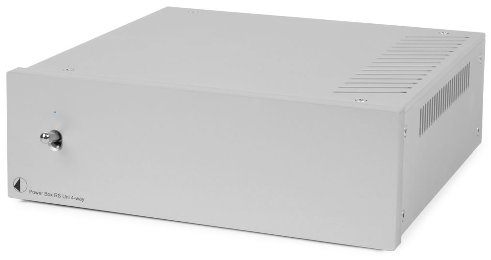 Pro-Ject Power Box RS UNI 4-WAY Linear-Netzteil silber