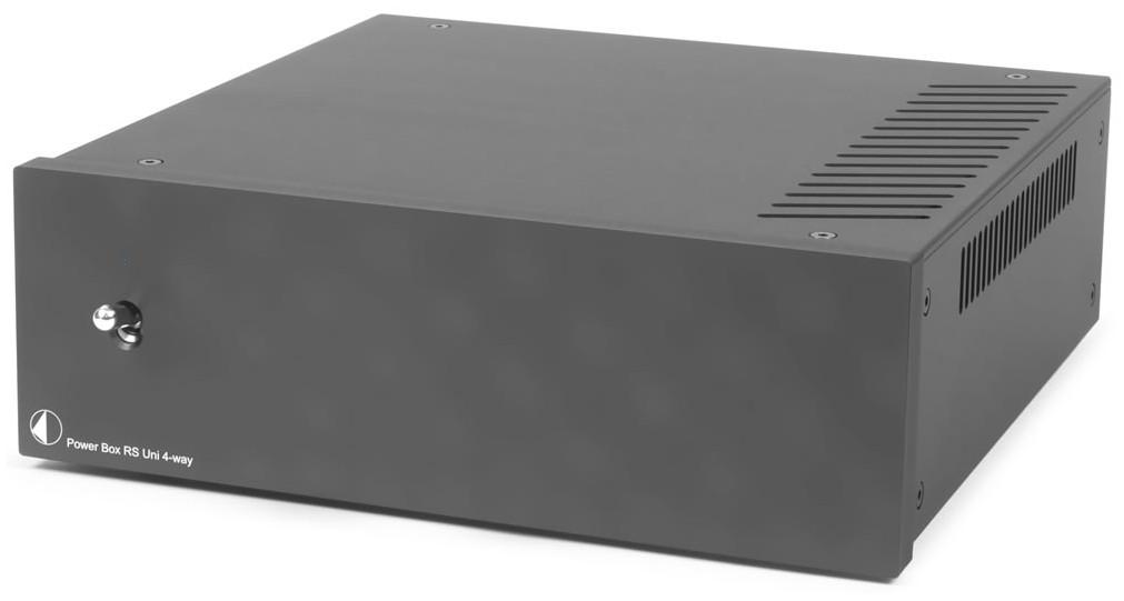 Pro-Ject Power Box RS UNI 4-WAY Linear-Netzteil schwarz