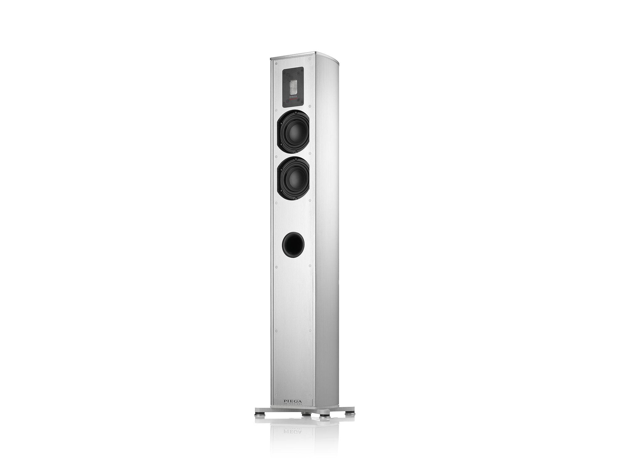 Piega Premium 501 Floor-Speaker (pair) white, cover silver