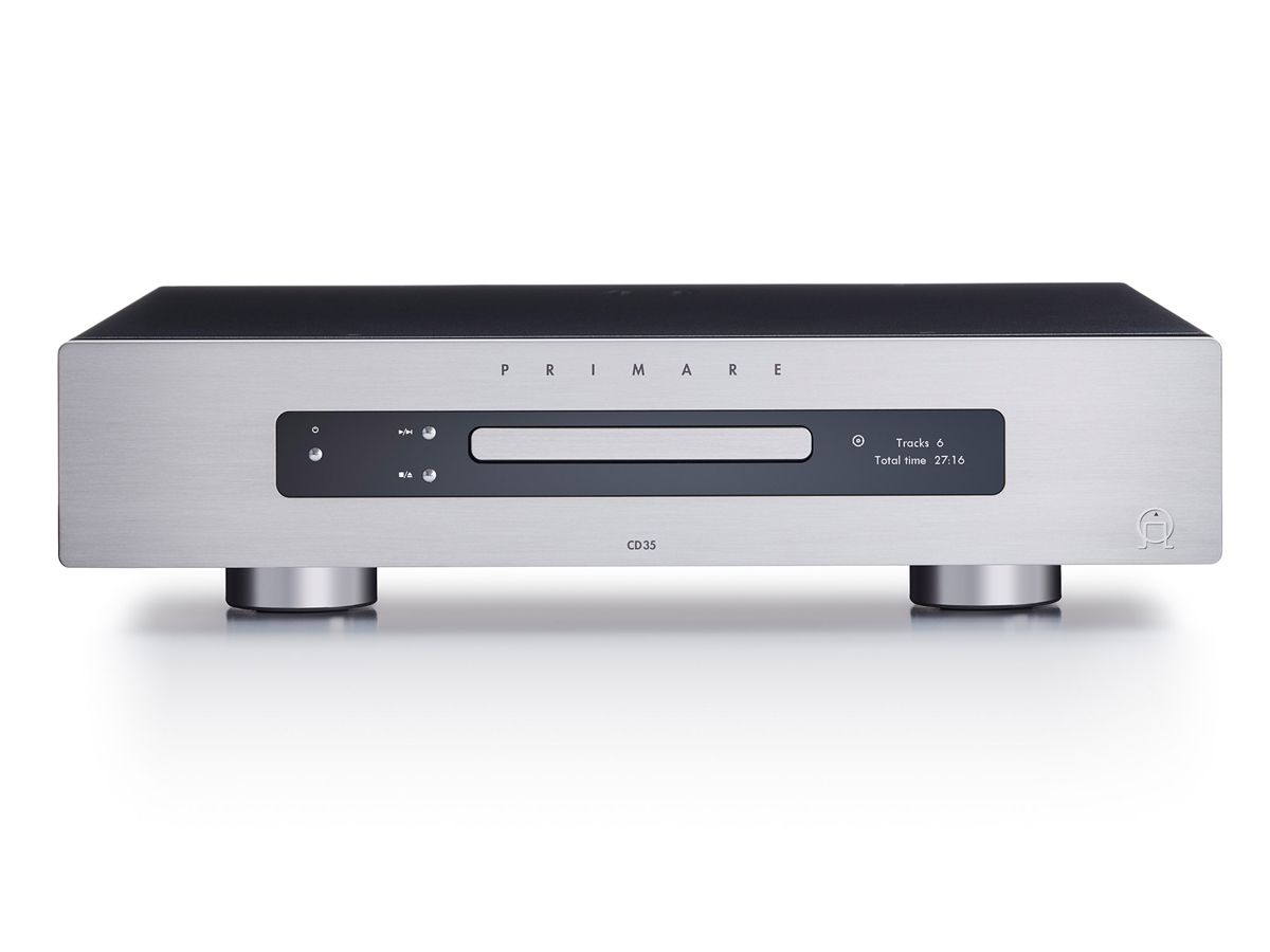 Primare CD35 Audiophiler CD-Player PCM348/DSD128 Titanium