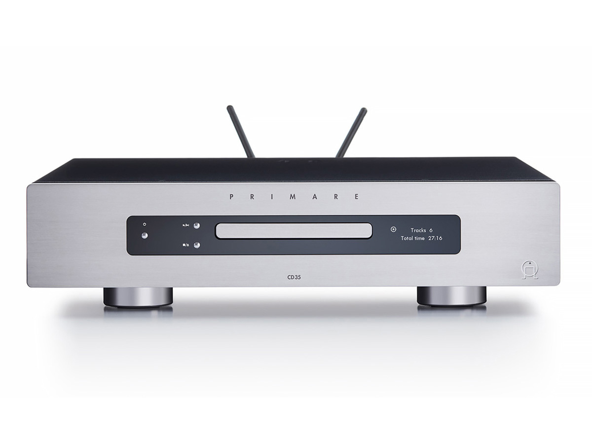 Primare CD35 Prisma Audiophiler CD-Player und Streamer PCM348/DSD128