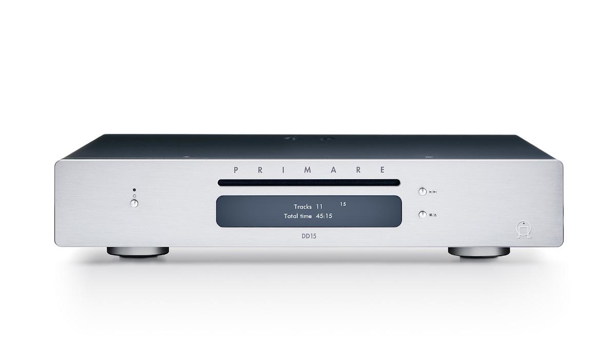 Primare DD15 CD-Transport with digital Outputs Titanium