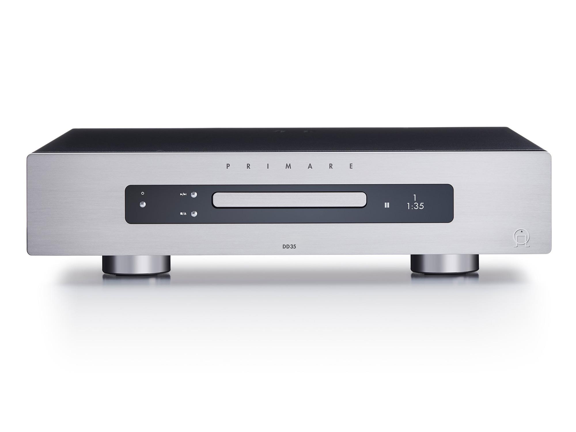 Primare DD35 Audiophiler CD-Laufwerk mit digitalen Ausgängen Titan
