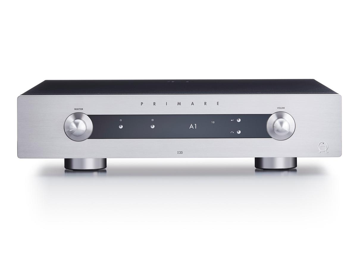 Primare I35  Stereo Vollverstärker 2 X 150 Watt 8 Ohm schwarz