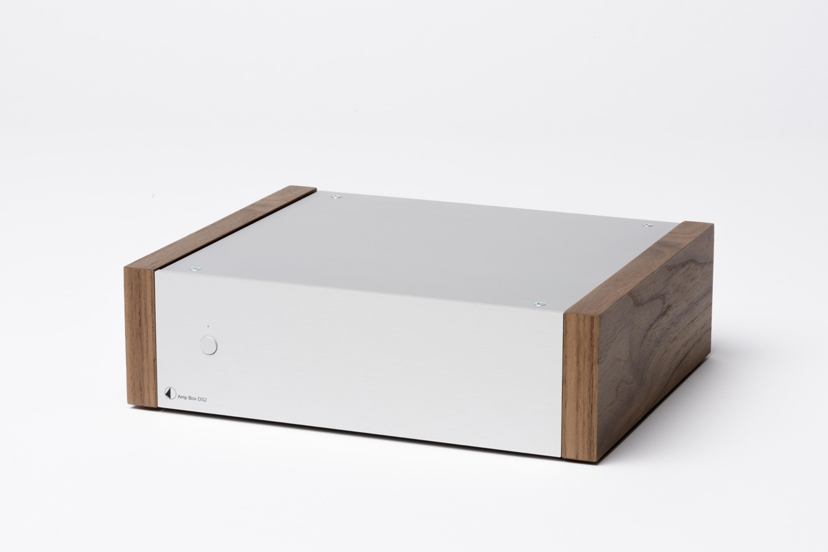 Pro-Ject AMP Box DS Stereo Amplifier silver/walnut