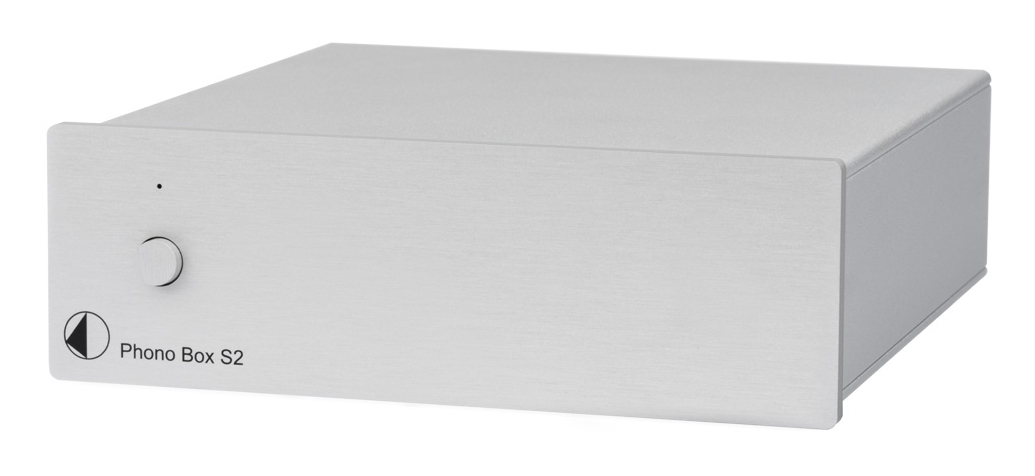 Pro-Ject Phono Box S2 MM/MC Phono Preamplifier silver