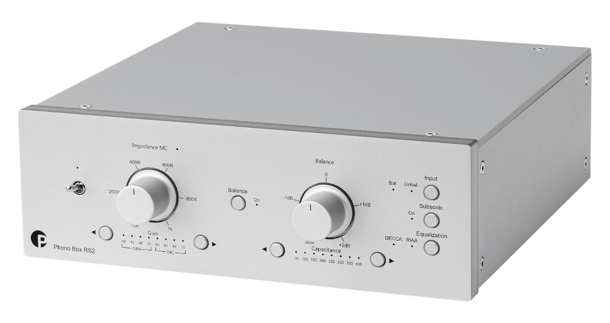 Pro-Ject Phono Box RS2 MM/MC Phono-Vorverstärker
