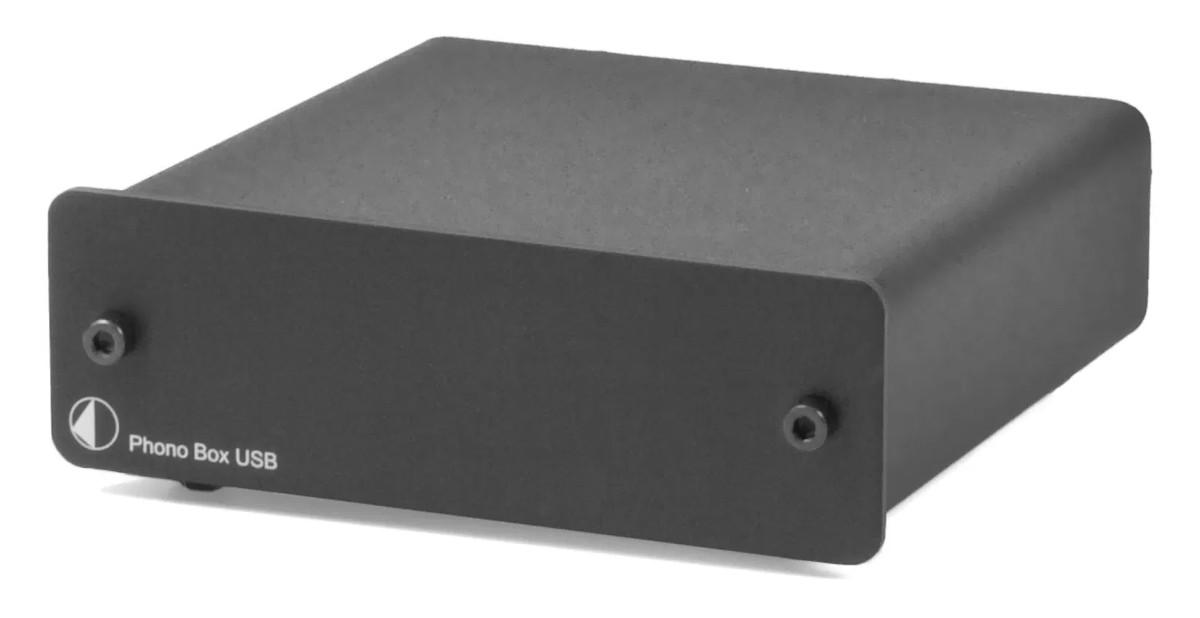 Pro-Ject Phono Box USB MM/MC Phono-Vorverstärker schwarz