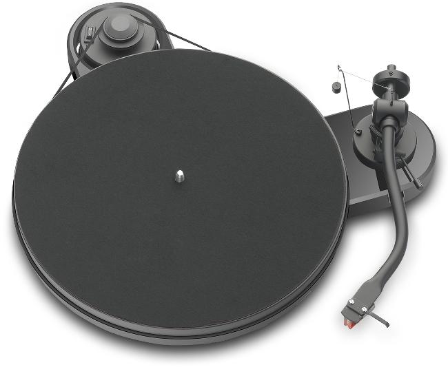 Pro-Ject RPM 1.3 Genie mit Ortofon 2M Red hgl. schwarz