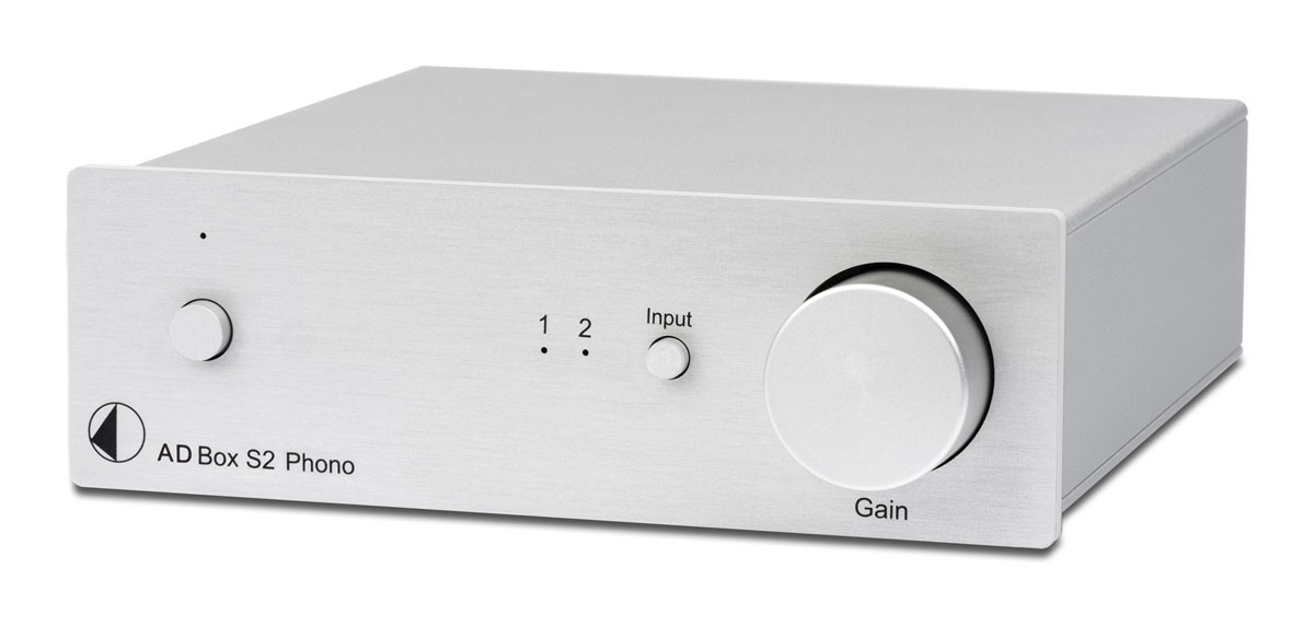 Pro-ject A/D Phono Box S2 Phono preamplifier