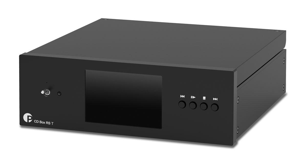 Pro-Ject CD Box RS2 T CD-Tansport, Top Loader black
