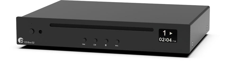 Pro-Ject CD Box S2 32 Bit/384 kHz schwarz