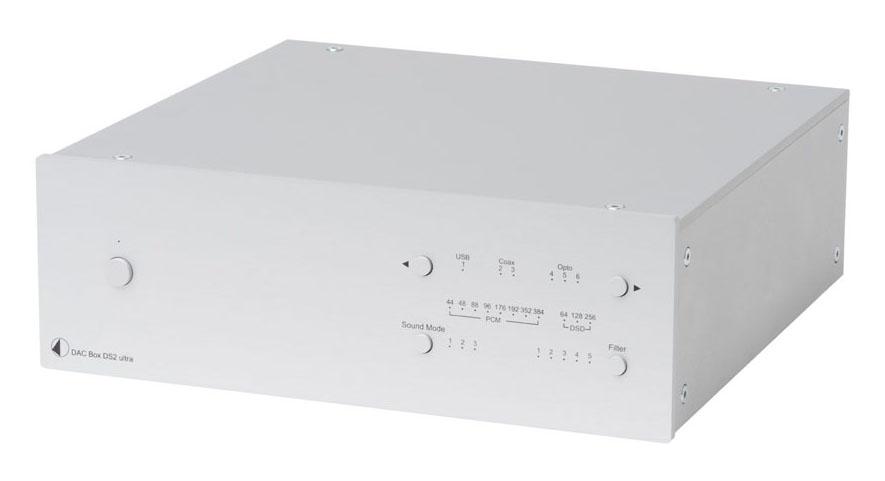 Pro-Ject DAC Box DS2 Ultra DA-Wandler silber