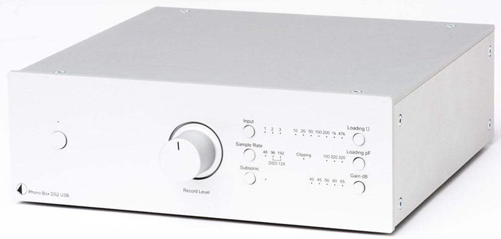 Pro-Ject Phono Box DS2 MM/MC USB Phono-Vorverstärker
