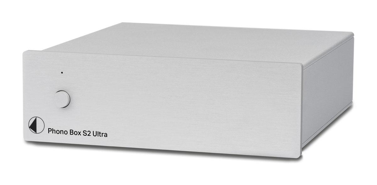 Pro-Ject Phono Box S2 Ultra MM/MC Phono-Vorverstärker silber