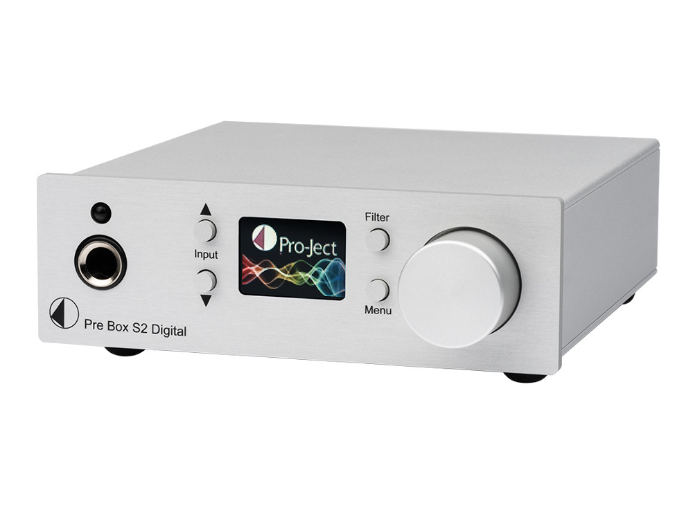 Pro-Ject Pre Box S2 Digital Vorverstärker silber
