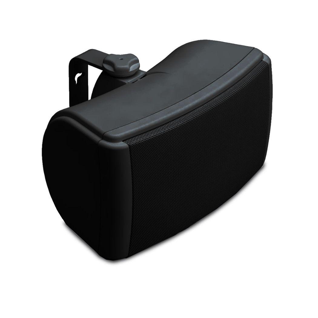 Q-Acoustics Qi 45 EW Aussen-Lautsprecher, Wetterfest schwarz