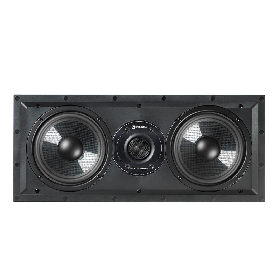 Q-Acoustics Qi LCR 65 RP Center Wand-Einbaulautsprecher für Heimkino