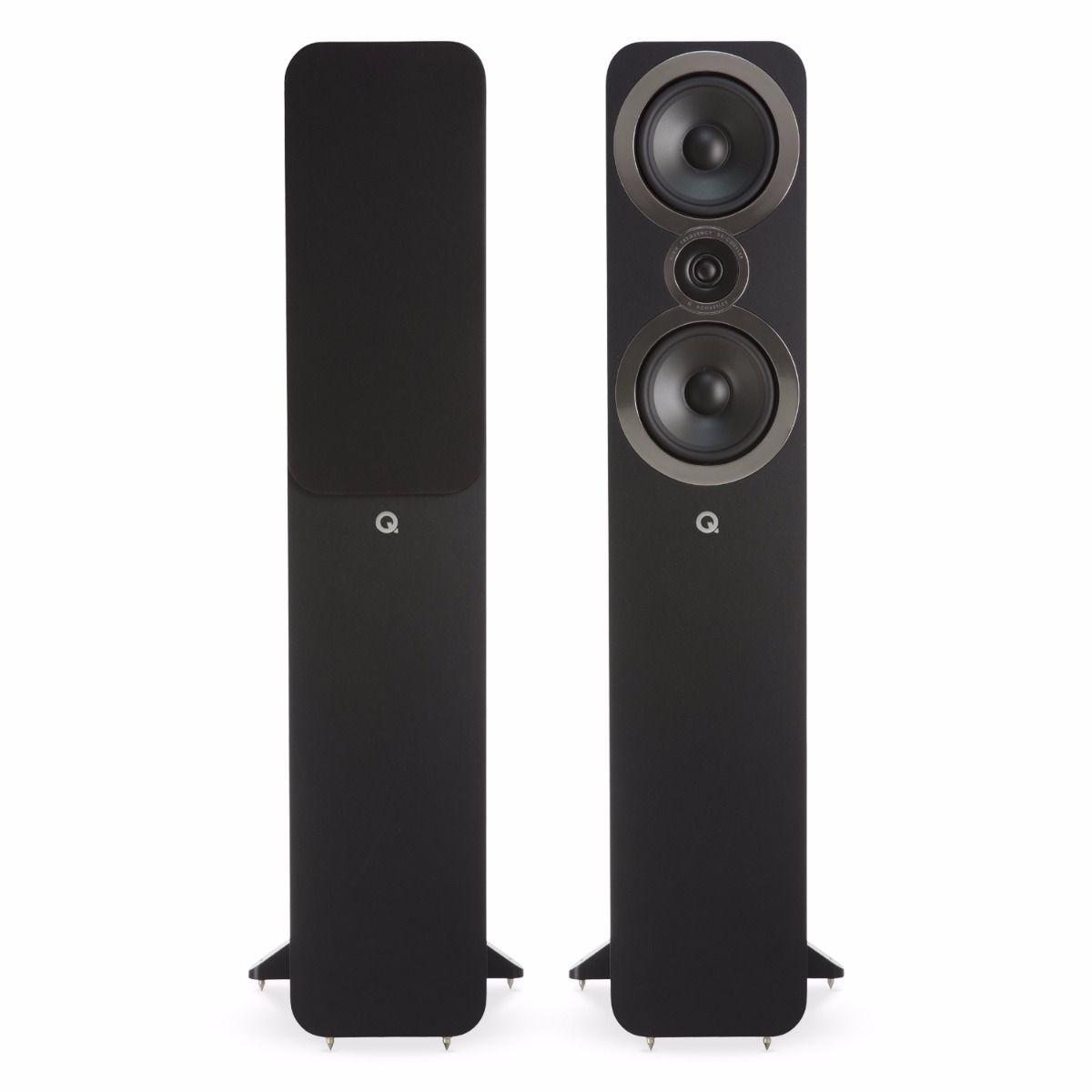 Q-Acoustics 3050i Standingfloor Speaker, black (checked return)