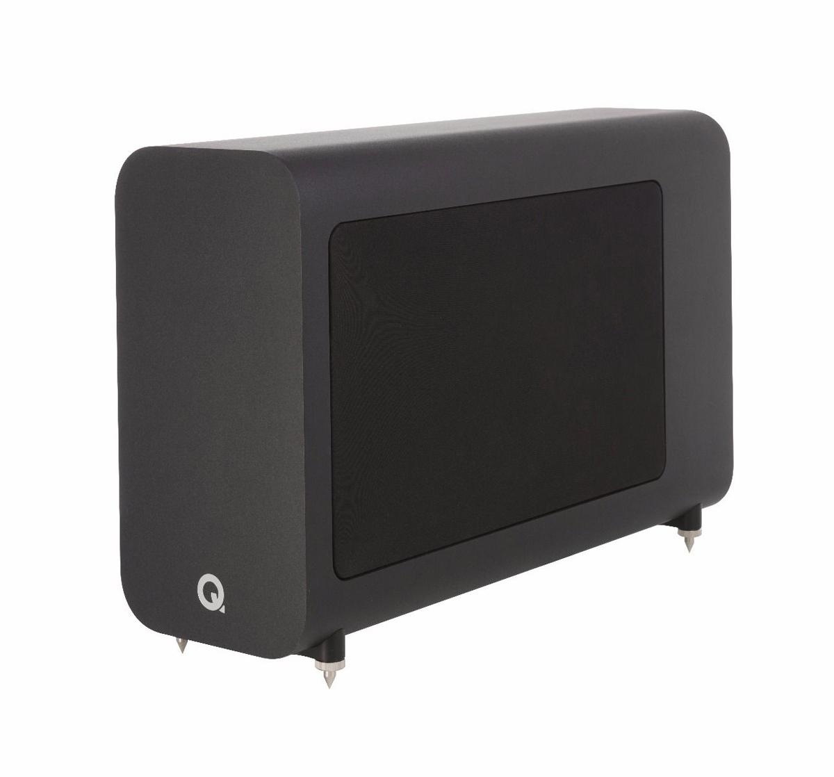 Q-Acoustics 3060S Aktiv-Subwoofer, schwarz (geprüfte Retoure)
