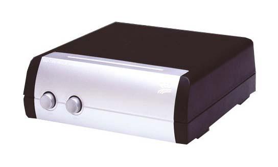 QED LS-Umschalter SS21 für 2 Paar Lautsprecher Parallel
