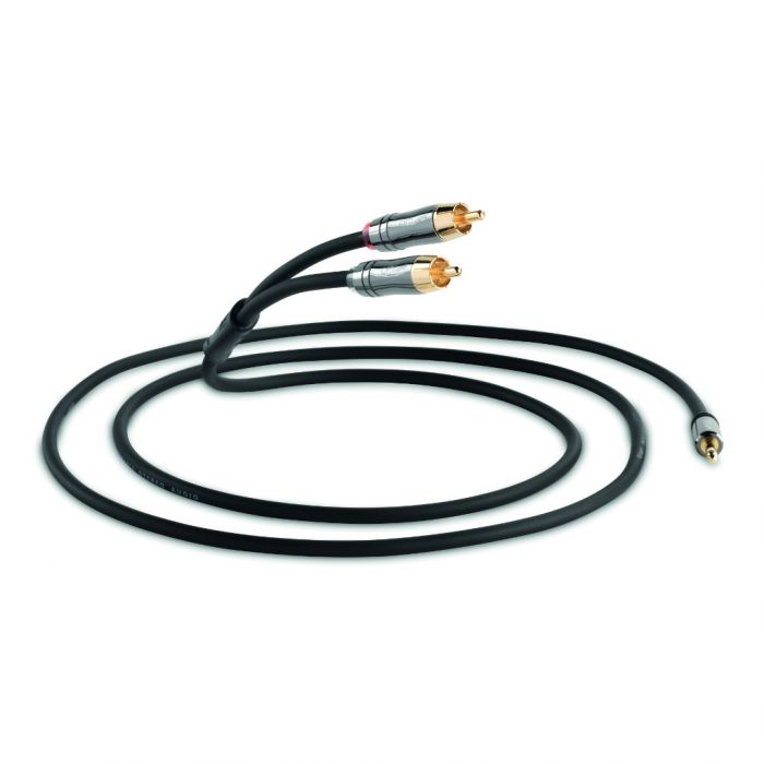 QED Performance J2P Graphit Kabel mit 3,5 mm Stereoklinke auf Cinch